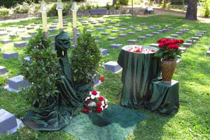 Dekoration für Beerdigung Bestattung Zehner